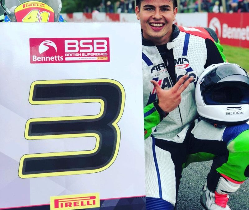 Milo Ward, G&S Racing – BSB Superstock 600 Rider (5th in the championship 2018)